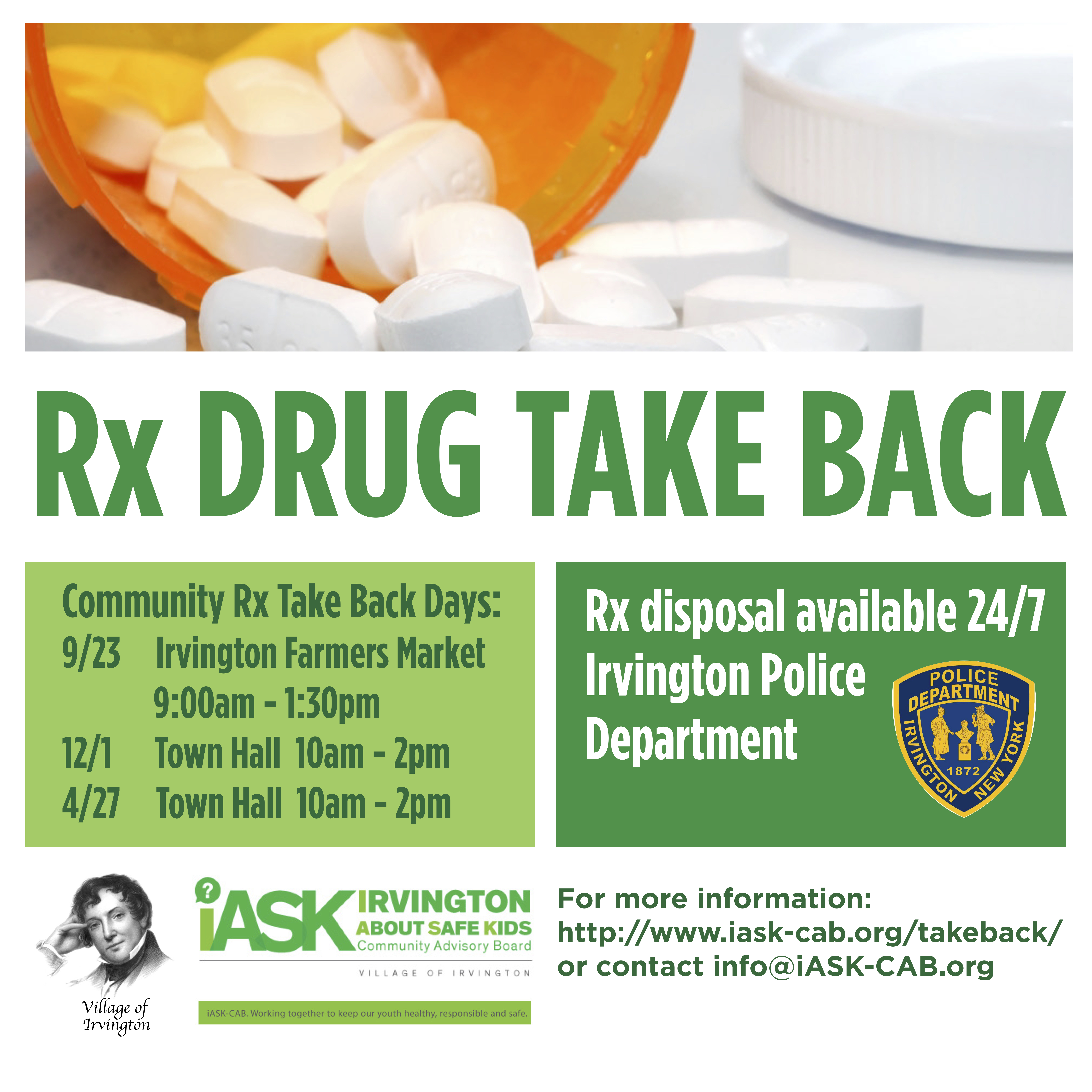 Why We Need Open Conversations About Drugs Community >> Rx Drug Take Back Iask Cab